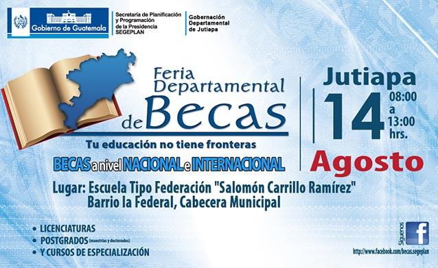 Feria Departamental de Becas Jutiapa