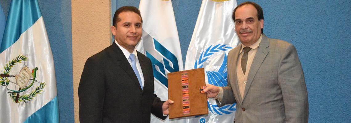 Gobierno de Guatemala Firma Acuerdo Programático para la Implementación del Plan Estratégico de País del PMA