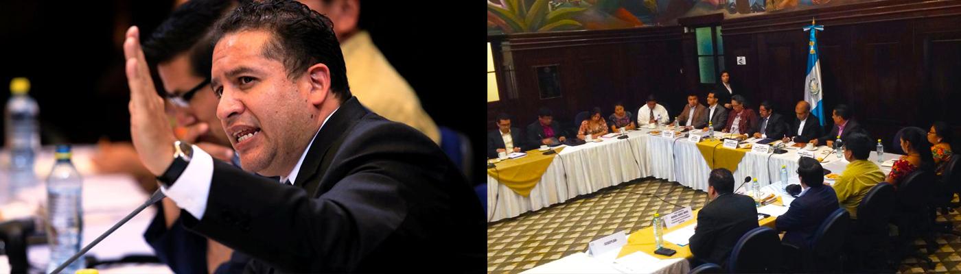 Secretario de Segeplán socializa Agenda priorizada de los ODS con diputados
