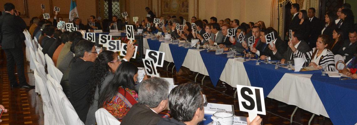 Conadur aprueba la estructura de la estrategia de implementación de la Agenda de los Objetivos de Desarrollo Sostenible