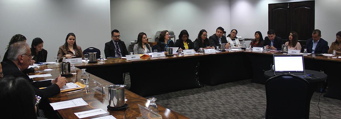 Revisan cartera de proyectos financiados con Cooperación Internacional No Reembolsable -CINR- proveniente del Banco Interamericano de Desarrollo -BID-