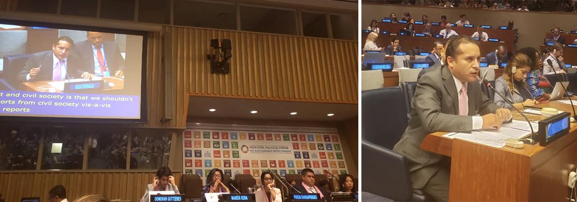 Secretario de SEGEPLAN expone los esfuerzos de país en el tema de la reducción de las desigualdades