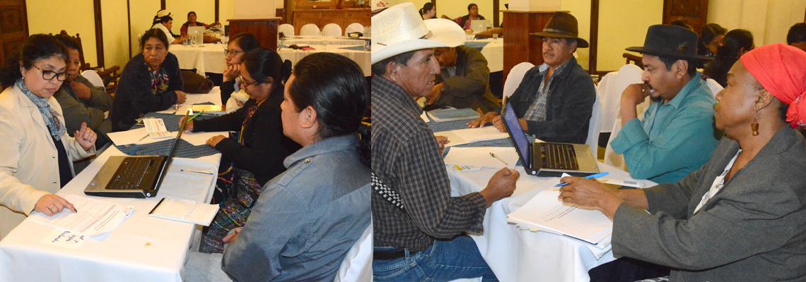 Pueblos indígenas participan en ejercicio de revisión nacional 2019: El camino hacia el desarrollo sostenible.